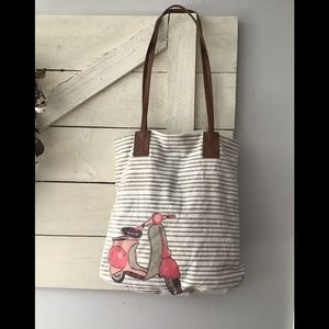Handbags - Vespa canvas Tote